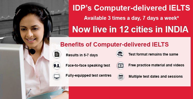 IELTS Exam Registration, Test Dates & Locations-IDP IELTS India